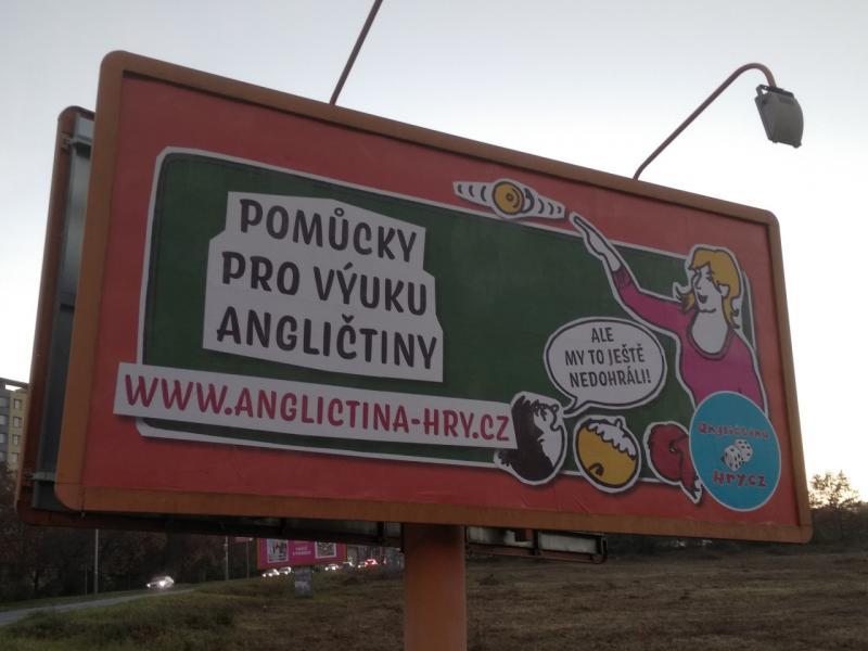 Příběh našeho billboardu