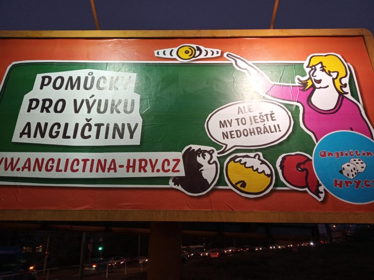 Viděli jste náš billboard?