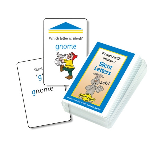 Silent Letters Chute Cards
