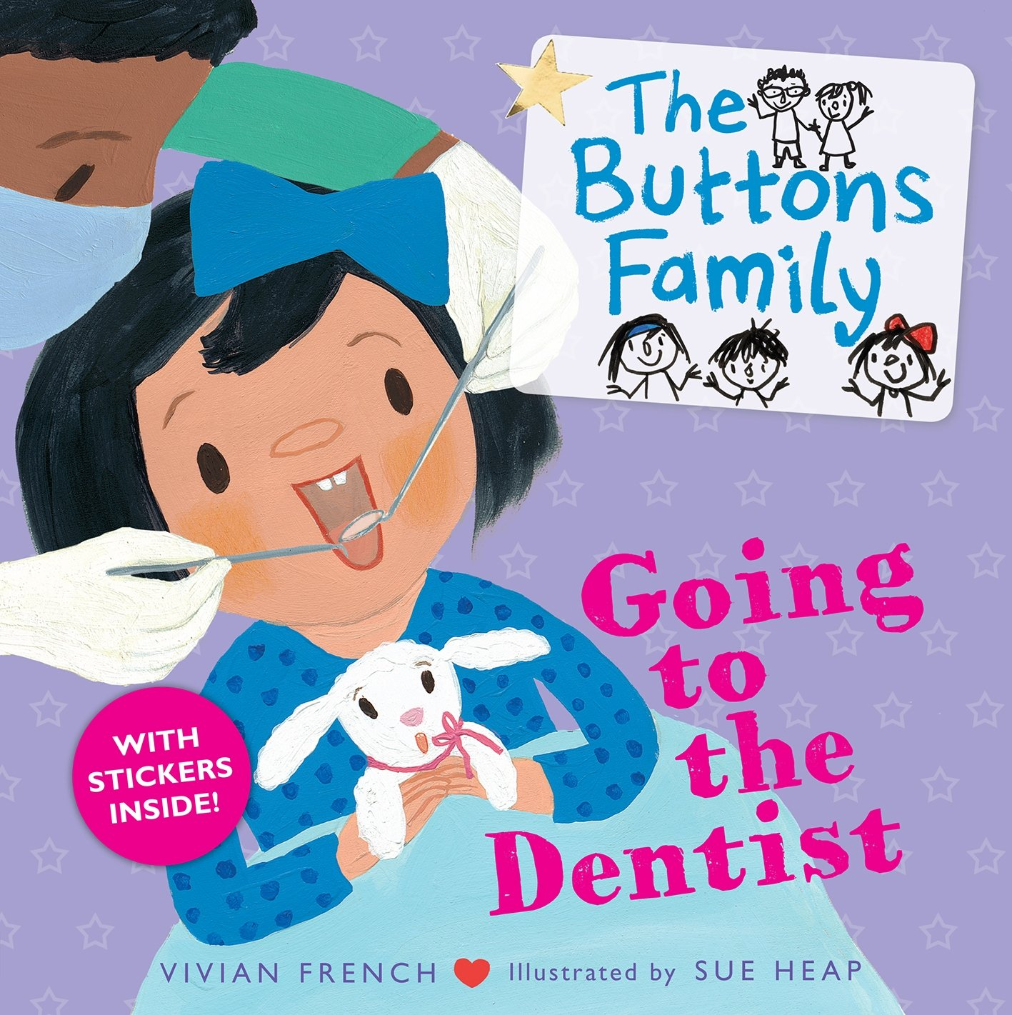 The Buttons Family: Going to the Dentist