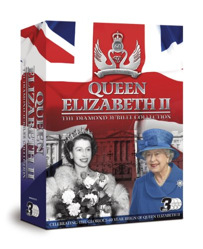 3 x DVD Queen Elizabeth II DIAMOND JUBILEE COLLECTION