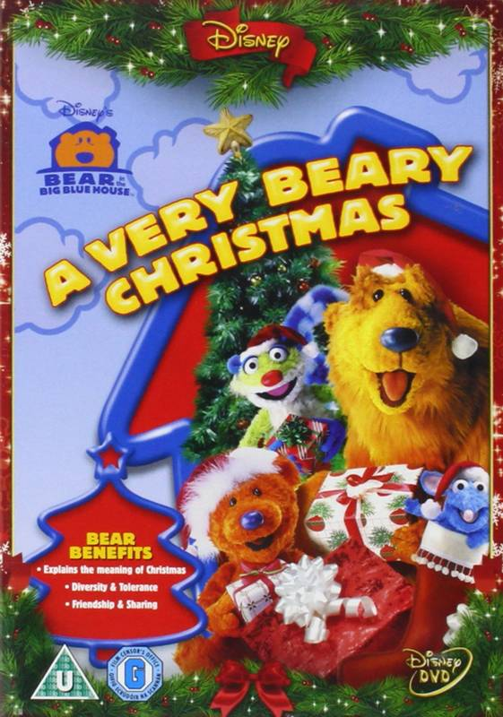 DVD Bear In The Big Blue House: A Very Beary Christmas