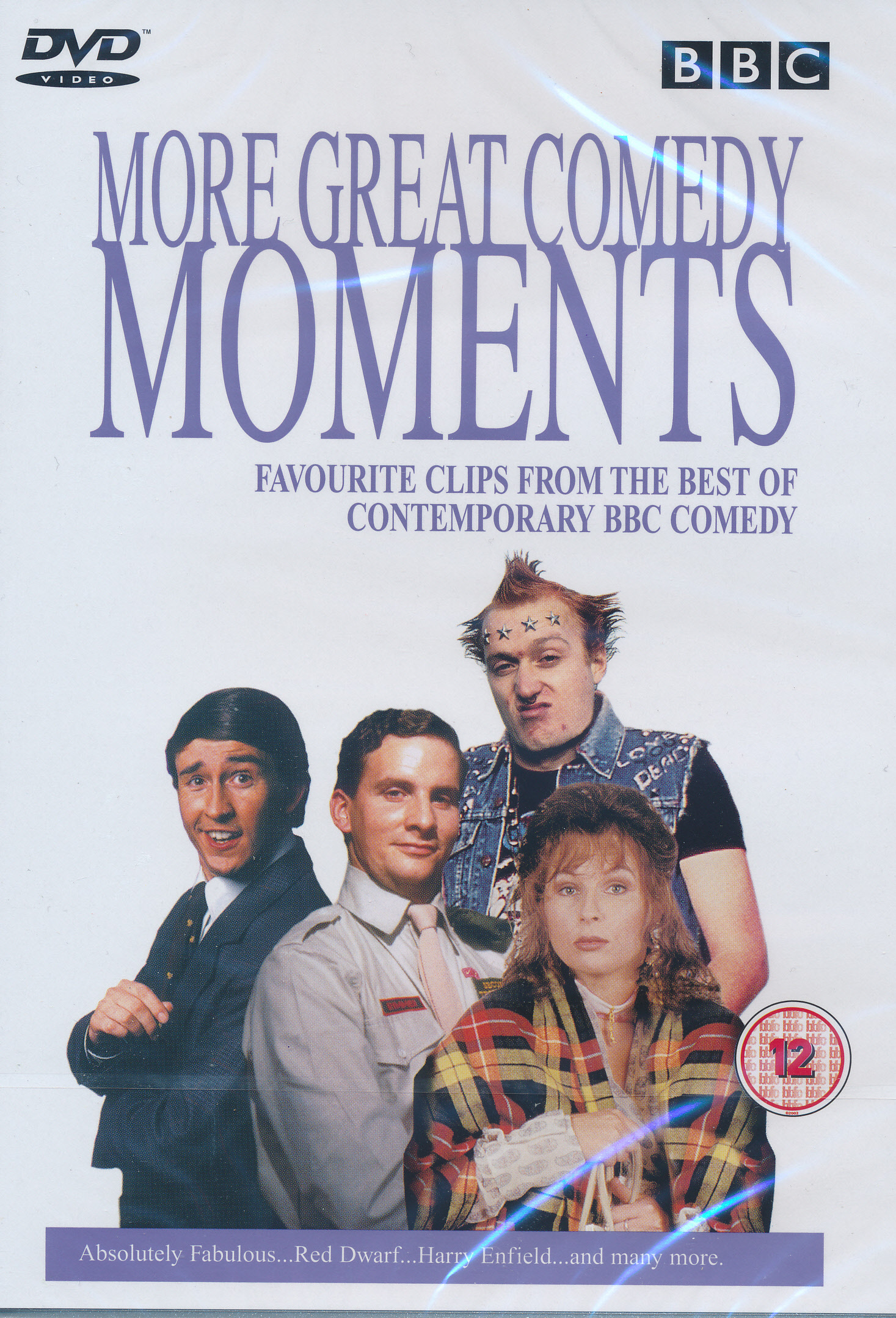 DVD BBC More Great Comedy Moments