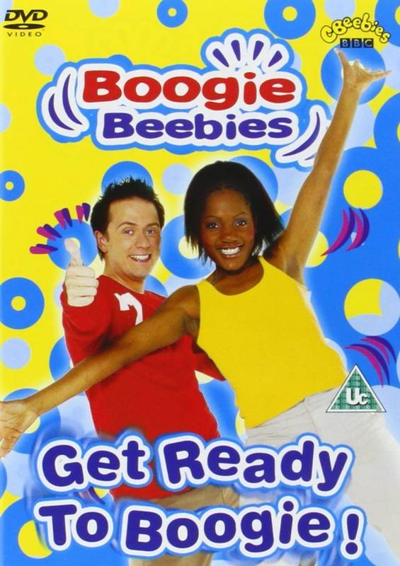 DVD Boogie Beebies - Get Ready to Boogie