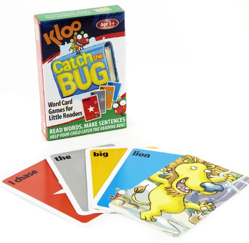 """Catch the Bug"" Learn to Read Game"
