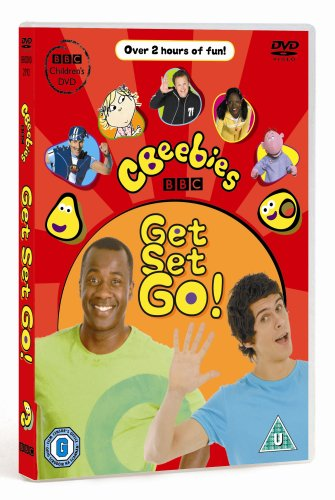 DVD CBeebies: Get Set Go