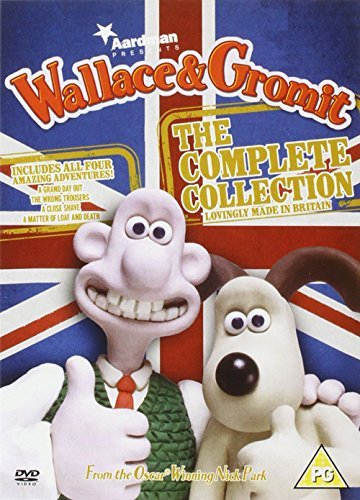 DVD Wallace & Gromit - The Complete Collection