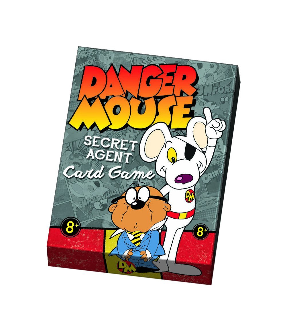 Danger Mouse Secret Agent Card Game