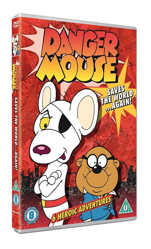 DVD Danger Mouse - Saves The World Again