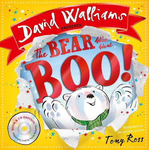 The Bear Who Went Boo! by David Walliams + CD
