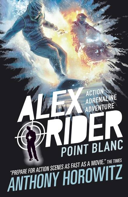 Point Blanc: Alex Rider Anthony Horowitz anglicky
