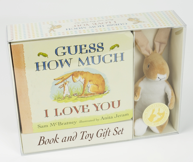 Guess How Much I Love You: Board Book and Soft Toy Gift Set