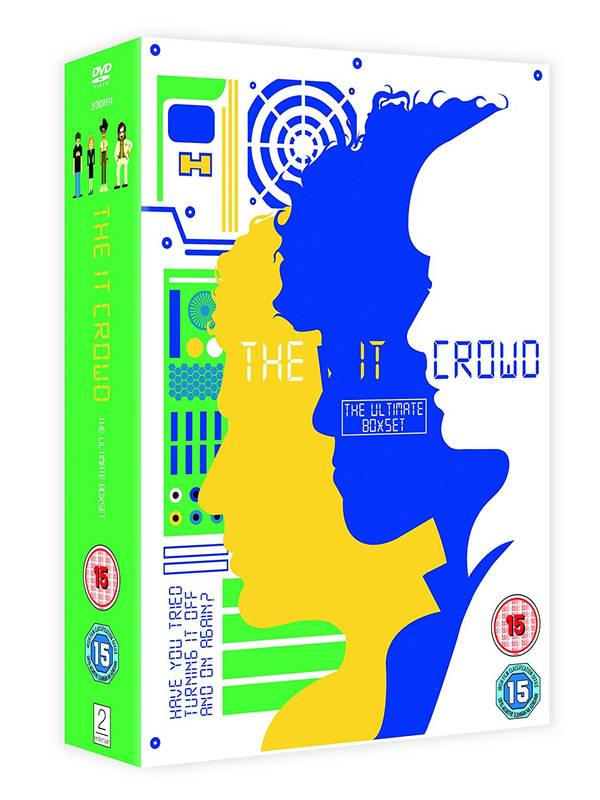 DVD IT Crowd - Ultimate Box Set