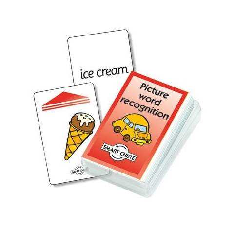 Picture Word Recognition Chute Cards