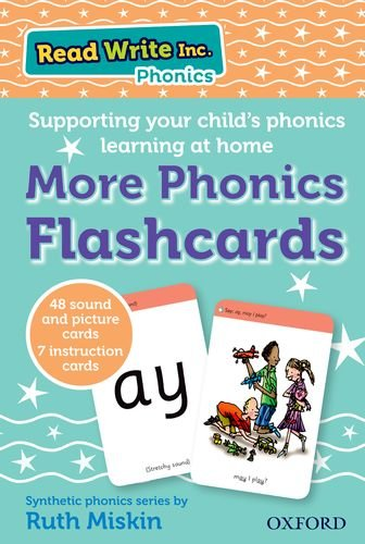Read Write Inc. More Phonics Flashcards