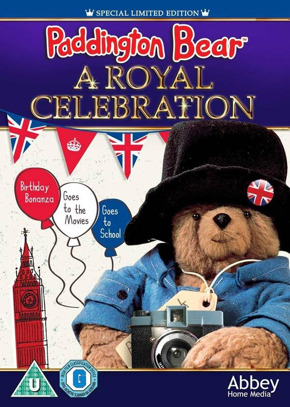DVD Paddington's Royal Celebration Paddington anglicky