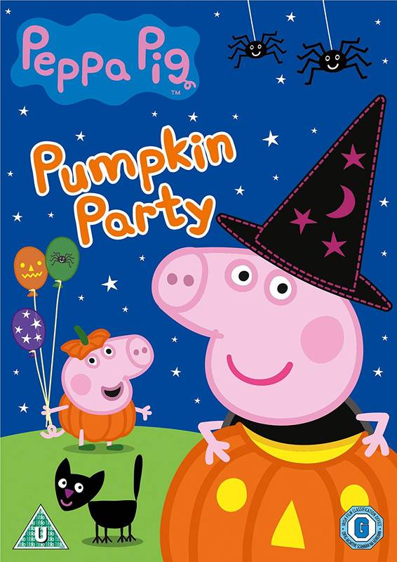 DVD Peppa Pig: Pumpkin Party