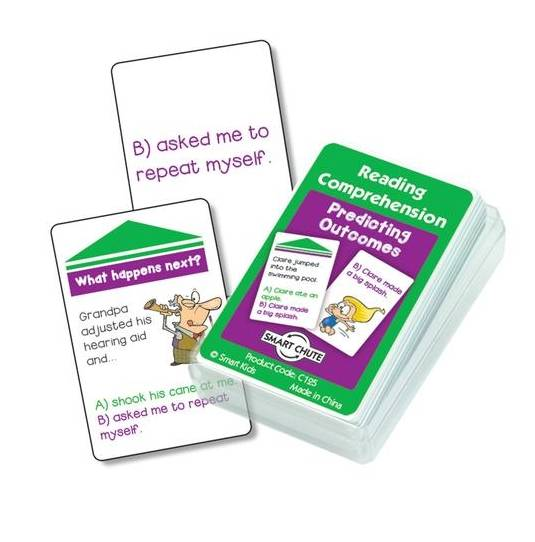 Predicting Outcomes Reading Comprehension Cards