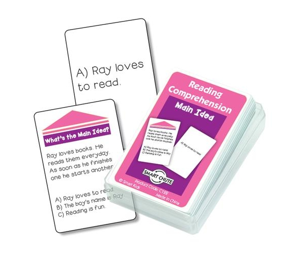 Main Idea Reading Comprehension Cards
