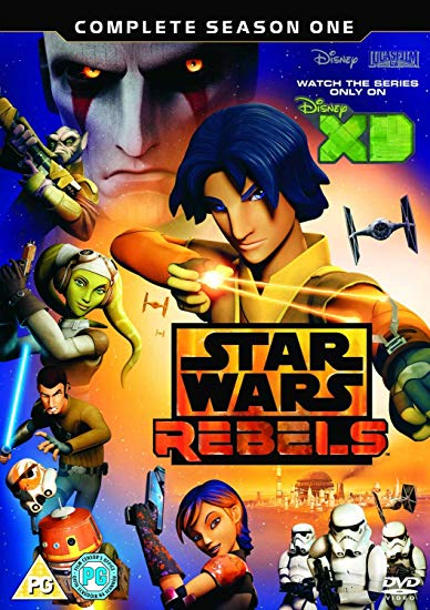 3xDVD Star Wars Rebels