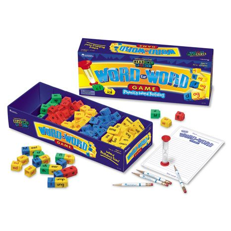 Word for Word® - Word Building Phonics Game