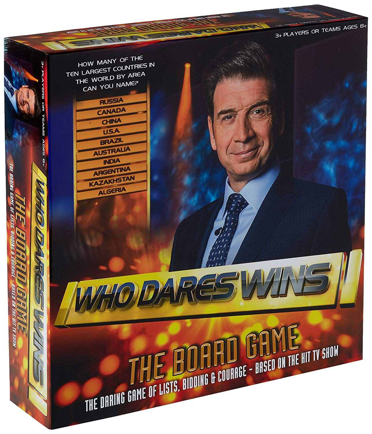 Who Dares Wins Board Game