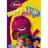 DVD Barney - Happy Mad Silly Sad