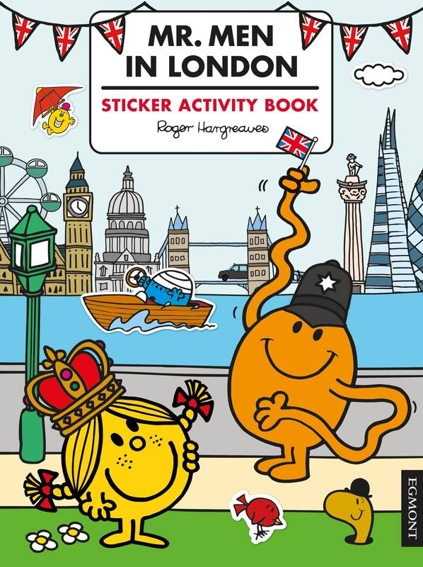 Mr. Men in London Sticker Activity Book