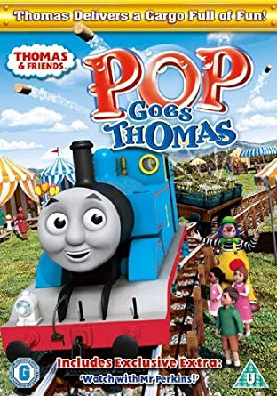 DVDThomas & Friends - Pop Goes Thomas Mašinka Tomáš