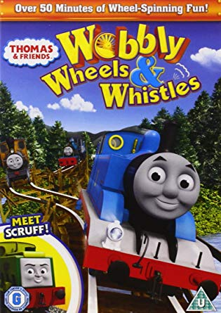 DVD Thomas & Friends - Wobbly Wheels and Whistles