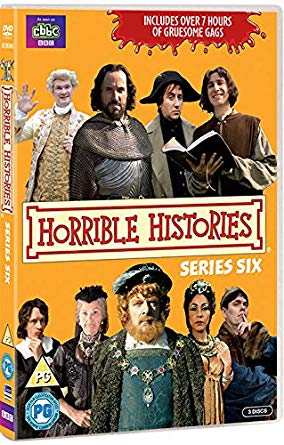 DVD Horrible Histories - Series 6 Děsivé dějiny 6