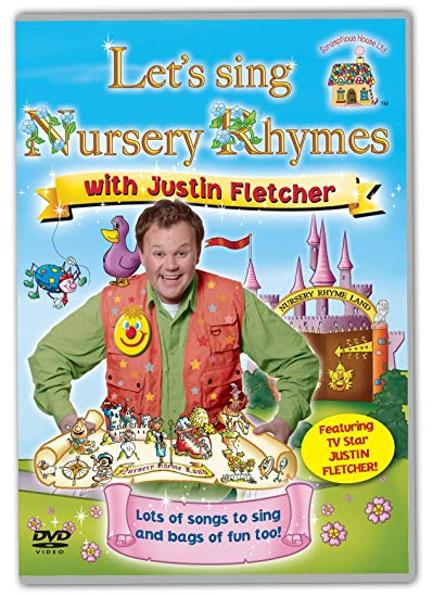 DVD Let's Sing Nursery Rhymes With Justin Fletcher