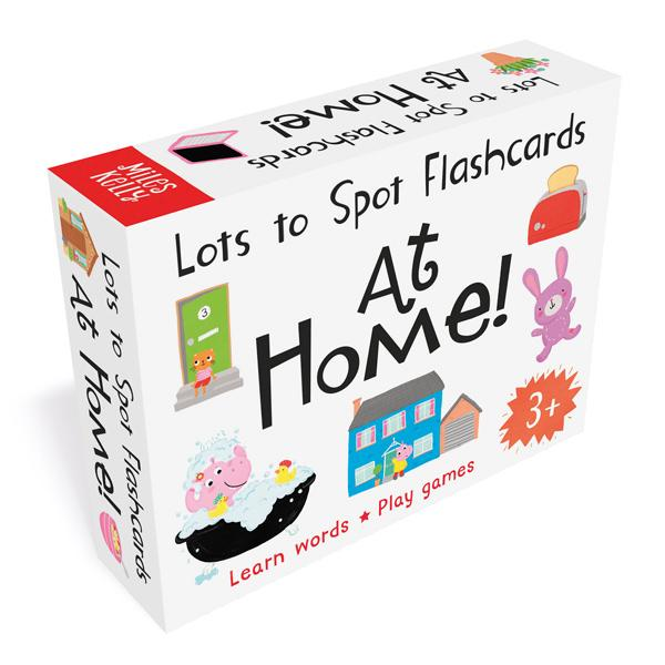 Lots to Spot Flashcards: AT HOME!