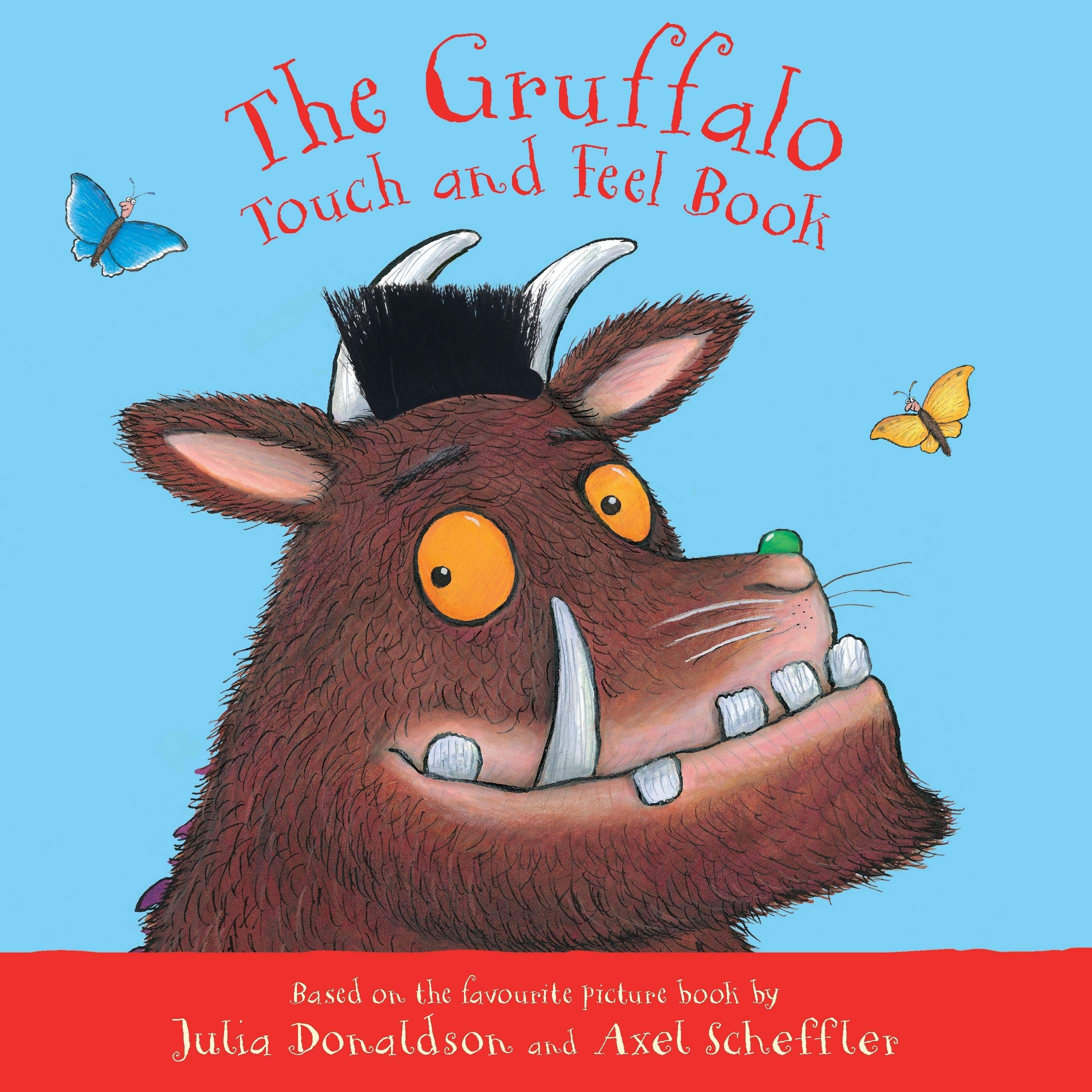 The Gruffalo Touch and Feel Book interaktivní kniha v angličtině