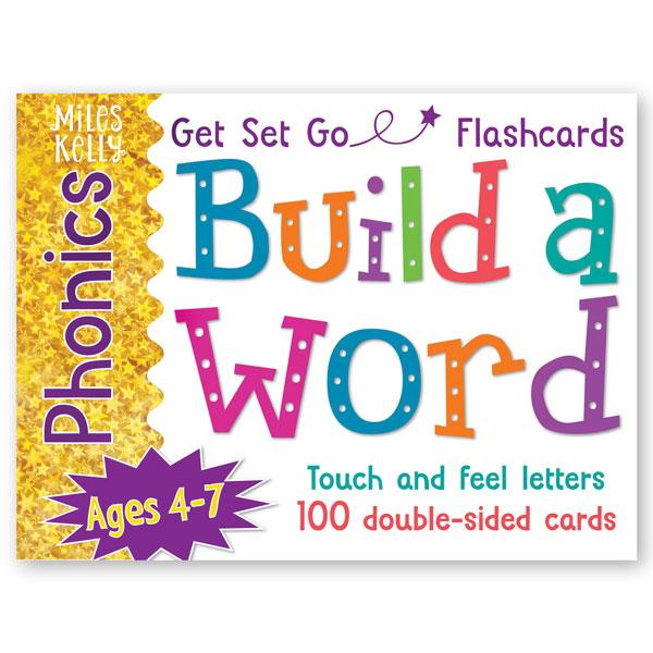 GET SET GO PHONICS FLASHCARDS: BUILD A WORD karty