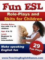 Fun ESL Plays for children (e-book)