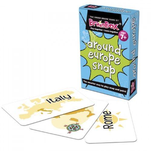 Around Europe Snap Card Game
