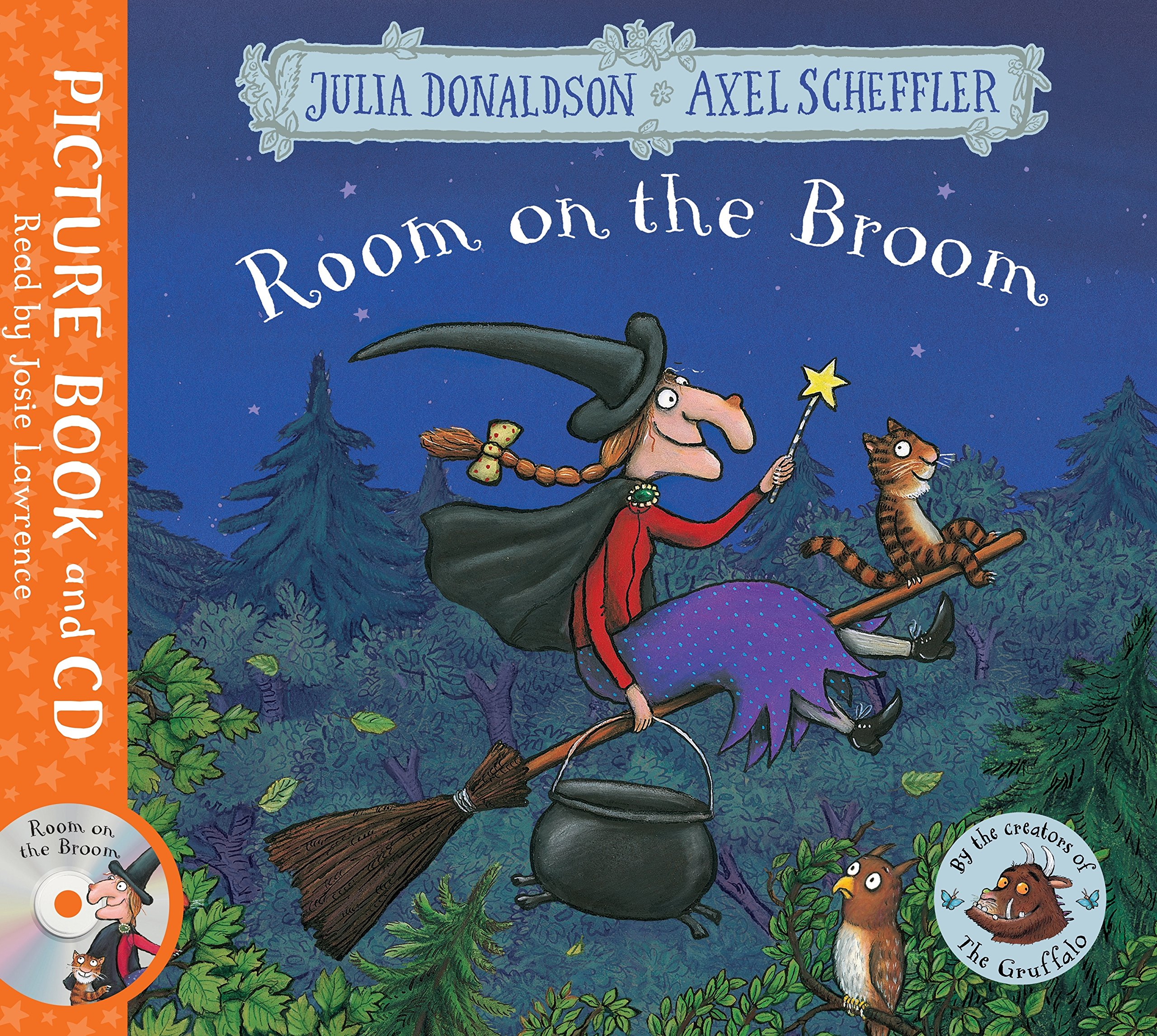 Room on the Broom: Book and CD Julia Donaldson