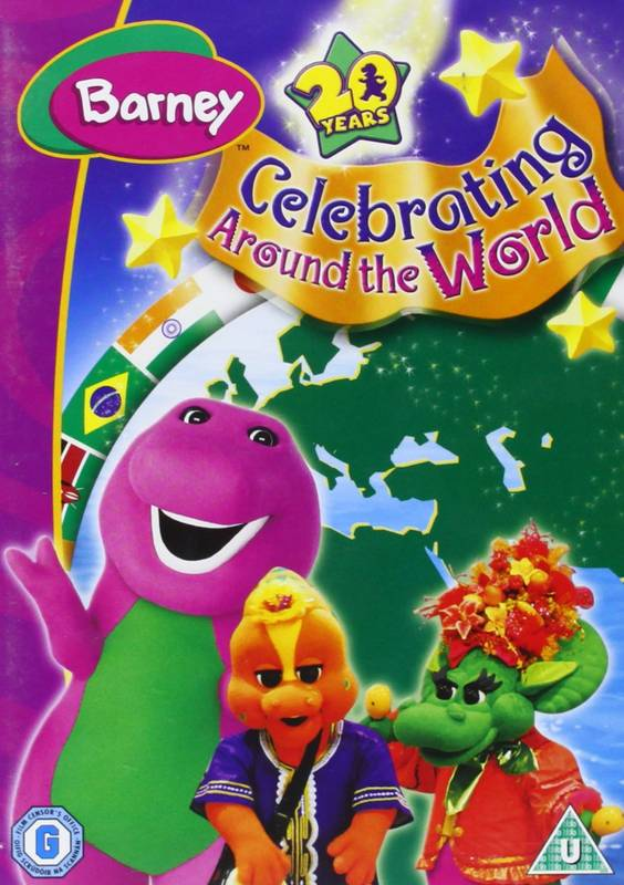 DVD Barney Celebrating Around the World