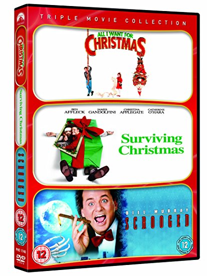 DVD All I Want For Christmas / Surviving Christmas / Scrooged Triple