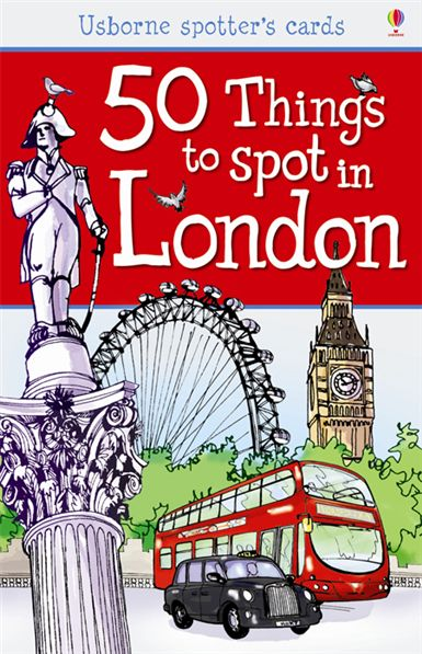 50 things to spot in London flashcards Londýn