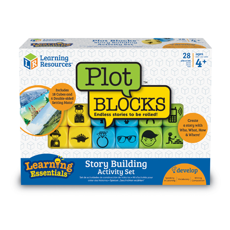 Plot Blocks™ Story Building Activity Set