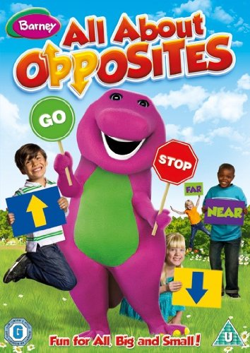DVD Barney - All About Opposites