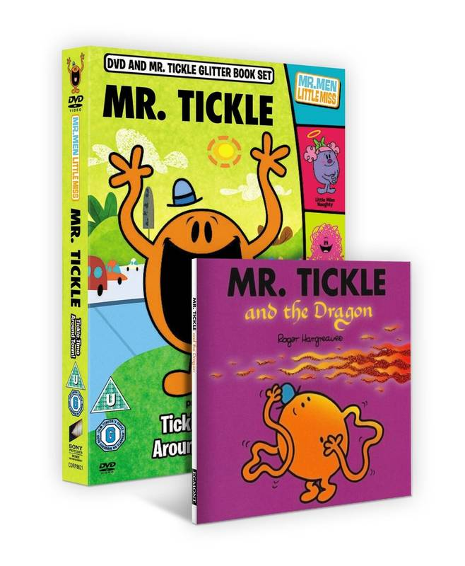 DVD Mr. Men and Little Miss: Mr. Tickle anglicky