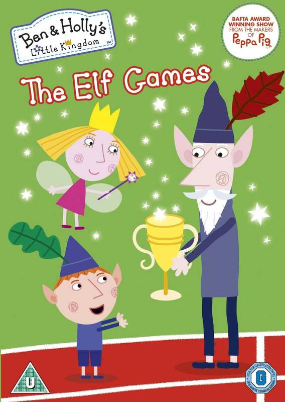 DVD Ben and Holly's Little Kingdom - The Elf Games