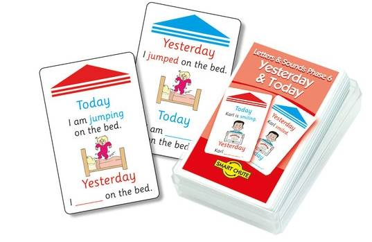 Yesterday and Today Chute Cards