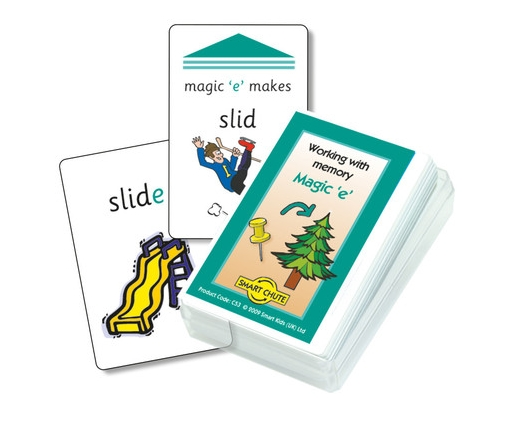 Magic 'e' Chute Cards