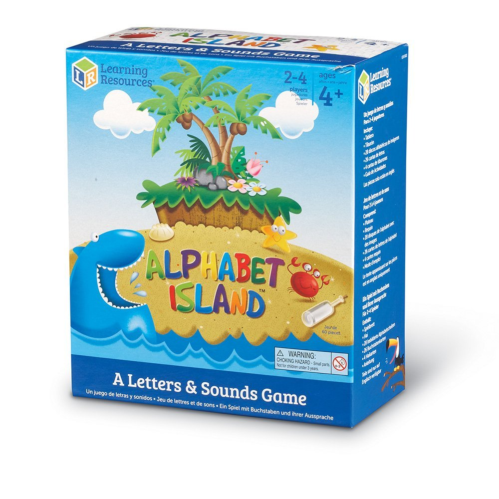 Alphabet Island Letter Recognition Game