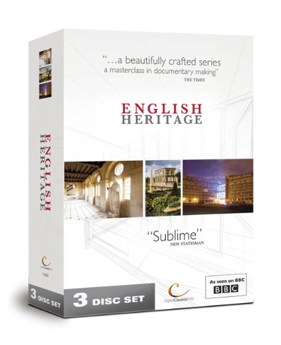 3 x DVD English Heritage