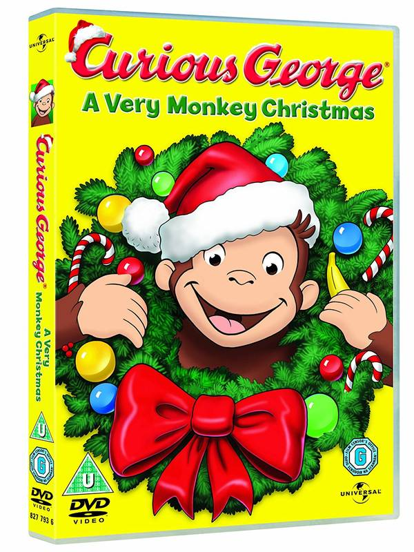 DVD Curious George: A Very Monkey Christmas